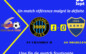 [U18] S'incline en fin de match